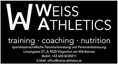 Logo WEISS ATHLETICS 1